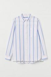 H&M Стильные рубашки в полоску размер 36 и 38 в наличии
