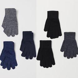 H&M Комплект из 3-х пар перчаток для 8-15 лет в наличии