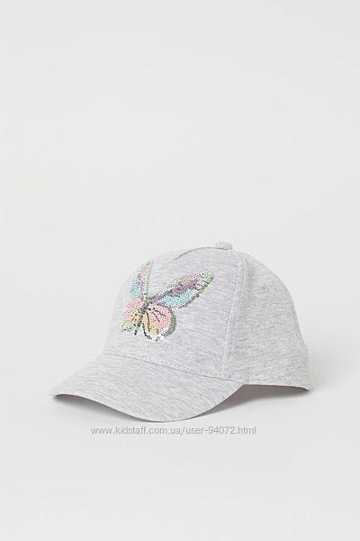 H&M Классная кепка с реверсными пайетками для 3-4 лет