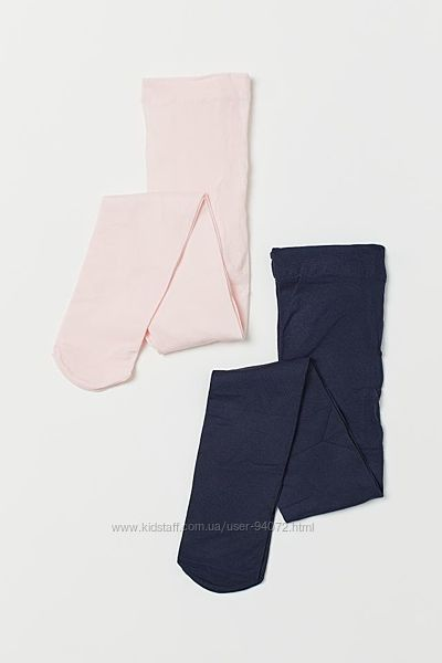 H&M Комплект из 2-х пар капроновых колготок для 4-6 лет