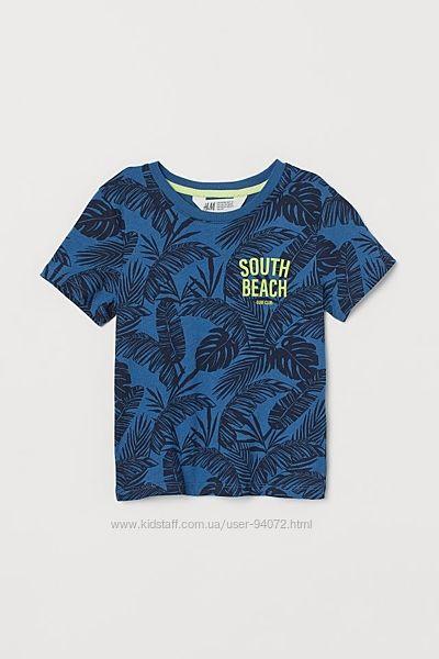 H&M Стильная футболочка для 1,5-10 лет