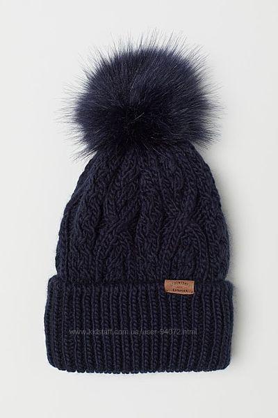 H&M Классная шапочка с помпоном для 4-8 лет