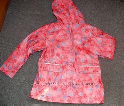 Куртка, плащ - дождевик на флисе от ТСМ Германия р. 122-128, 134-140