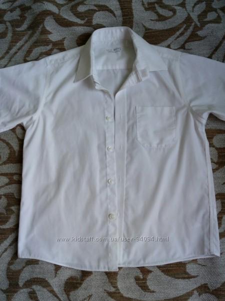 Рубашка Marks&Spencer 8 р128, George 8-9 бу