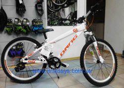Детский подростковый велосипед Drag C1 Comp 24 дюй бело-оранжевый от 7-8лет
