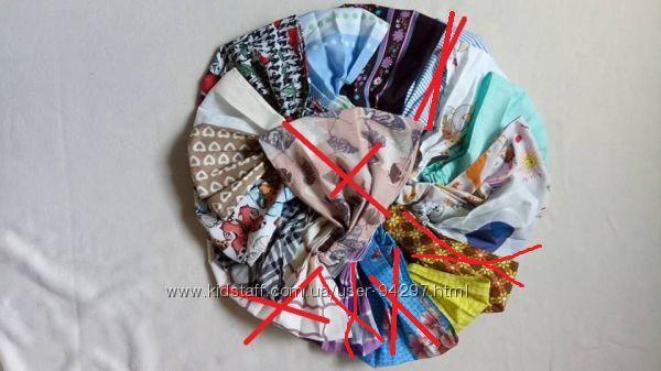 Косынка - бандана на резиночек в наличии много цветов. Выбор ткани