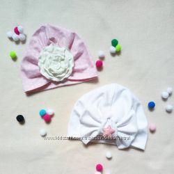 Чалма или тюрбан  лето , весна, осень и другие модели шапочек, наборы