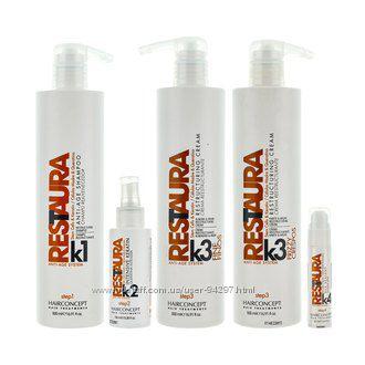HAIRCONCEPT RESTAURA K не имеющая аналогов система восстановления волос