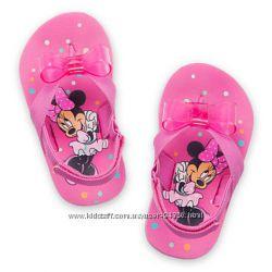 Вьетнамки, flip flop, шлепанцы Disney оригинал Minnie Mouse