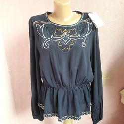 Стильная блуза вышиванка 46-48, Франция
