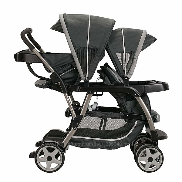 Коляска для двойни или погодков Graco Ready2Grow LX