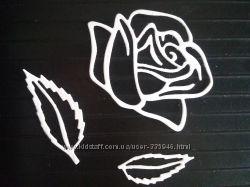 Висічка для скрапбукінгу Троянда