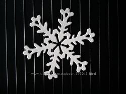 Висічки для скрапбукінгу Сніжинки