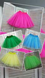 Красивая пышная юбка из фатина для девочки