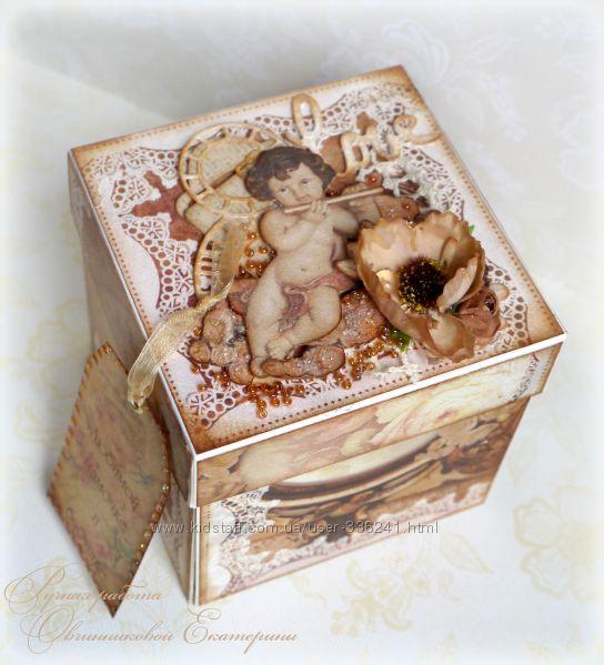 подарочная коробочка мagic box с секретом на заказ
