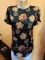 Стильная блузка ZARA с карманами