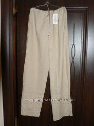 продам новые льняные штаны на 52-54 размер