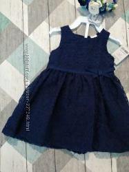 Синие платье Картерс, Carters 6m