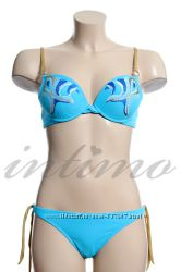 Новый итальянский купальник Amareo р. 42 голубой