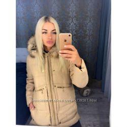 Куртка тёплая Мех натуральный с м л