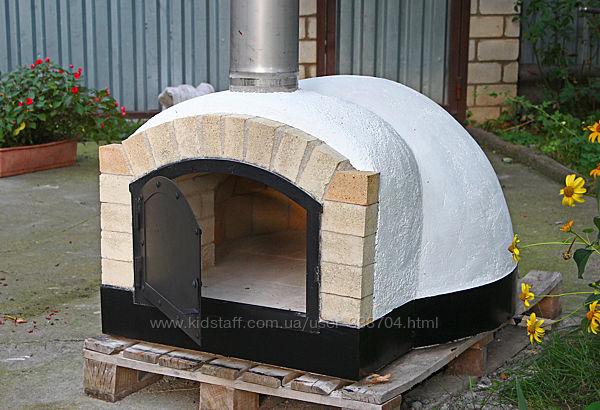 Печь на дровах для пиццы помпейская
