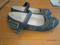 Джинсовые  туфельки ТМ Шалунишка