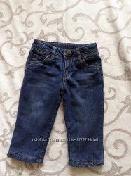 М&acuteякі на флісі джинси 74-80 р.