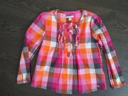 Нежная блузка ESPRIT на 6-7 лет как новая