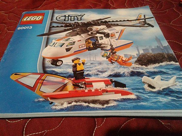 LEGO City Вертолёт береговой охраны