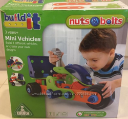 Конструктор Mothercare ELC Build it Mini Vehicles оригинал