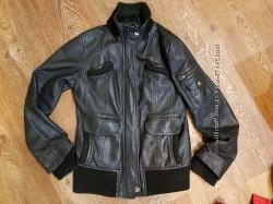 Кожаная куртка Mango M - S