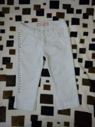 Белые Капри бриджи Motor jeans
