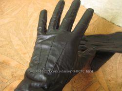 Кожаные перчатки М, Lр. Новые и бу. Atmosphere, George, ARIS.