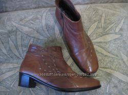 Кожаные ботинки 37р. Pavers