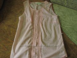 Тонкая нежно-розовая блузка 34р. L. O. G. G. H&M