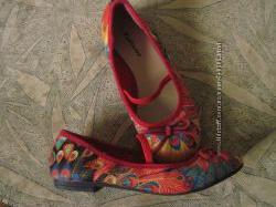 Цветные балетки Ballerina33р.