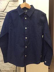 Фирменные рубашки мальчику на рост 116- 134см
