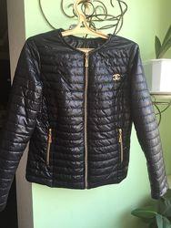 Демисезонная курточка Шанель Р.48