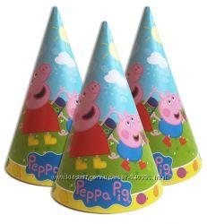 Одноразовая посуда на день рождения свинка пеппа