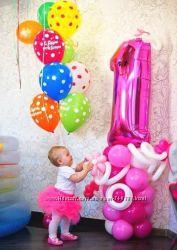 Украшения и одноразовая посуда на день рождения разные тематики