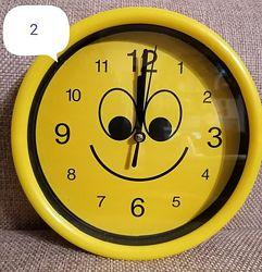Часы настенные смайл круглые 24878