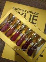 Хит Набор из 6-ти матовых помад Kylie Birthday Edition. Супер стойкость