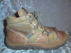 Замшевые деми  ботинки LUMBERJACK  р. 31