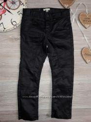 Стильные брюки скинни под кожу Vertbaudet р 5 л 108 см