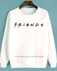 Свитшот friends друзья ручная роспись