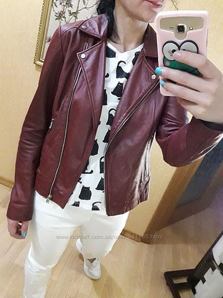 Куртка курточка косуха кожанка кожаная натуральная кожа