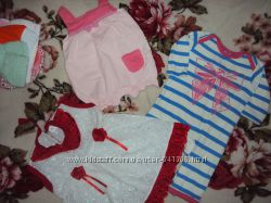 Пакет одягу для дівчинки від 0-3 місяці