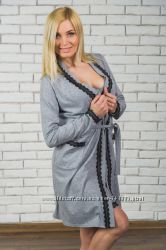 Женские пеньюары, халат  сорочка