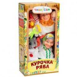 Кукольный пальчиковый театр ширма для театра репка Колобок Курочка Ряба