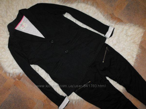 Оригинал  Y. D. трикотажний пиджак синего цвета чиноси в подарок